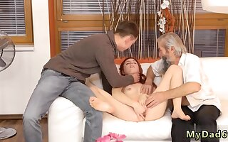 Mom and sun sex Discourteous experience with an senior