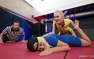 Full lesbian domination XXX into the ring