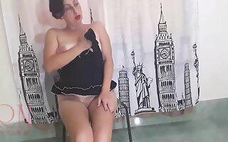 Regina Noir Posing For Full Dusting Double Pussy Show By Regina Noir - 2