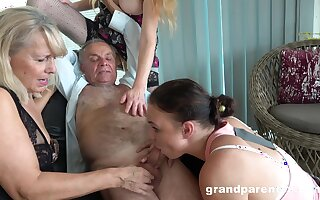 Confessor takes his pill and fucks slay rub elbows with slutty mature in crazy action