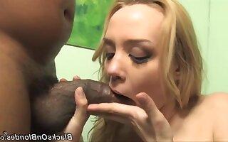 Denunciatory harlot Annette Schwartz hot interracial sex
