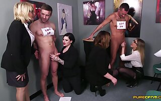 Excruciating passion for these clothed matures via hot office XXX fetish