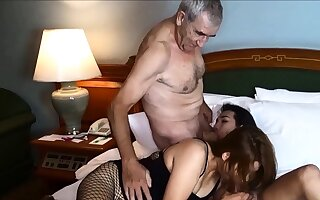 Cuckold by Asian ladyboy for Thai MILF wife and her pinch pennies