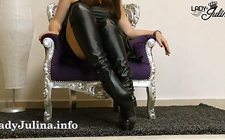 Clean the boots of your dominatrix JOI CEI - LJ Classic
