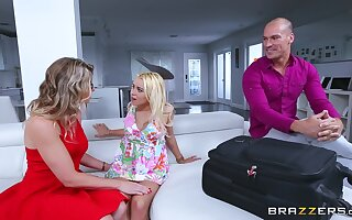 Inappropriate sexual awakening for Cory Chase and Marsha May