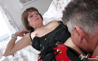 Both well aged and well preserved british mature got her hard rough fuck which was immensely desired