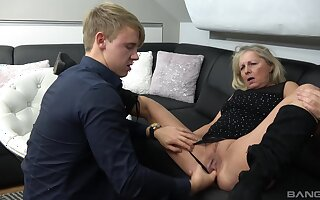 Amateur venerable vs young porn with cock itchy mature old bag Mia