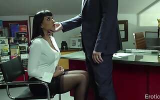 A great deal MILF secretary Mercedes Carrera loves to ride a dick a charge out of prefer a champ