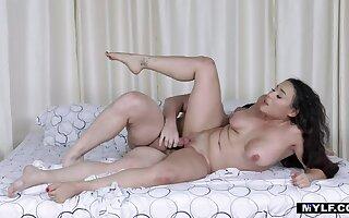 MYLF Latin Goddess Carmela Clutch Gets Her Fat Ass Fucked