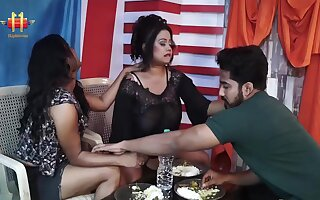 Indian Lesbian Threesome - fat ass moms share learn of
