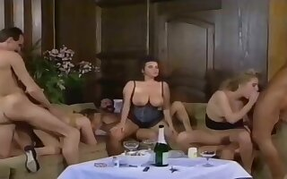 German chubby beauty with hairy pussy and great big juggs gets her ass drilled