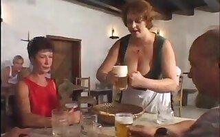huge big tits petra barmaid