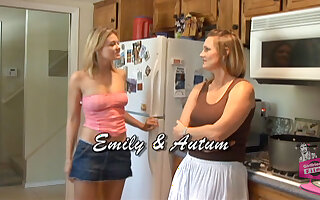 Autum Moon in Lesbian Seductions #08, Scene #01