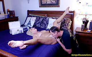 Getting Fucked After the Skype Call Gets Her Horny