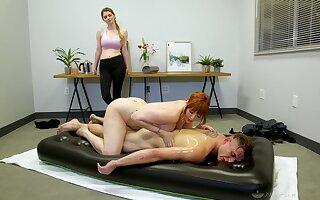 Legendary nuru massage apart from plenary cougar masseuse Lauren Phillips