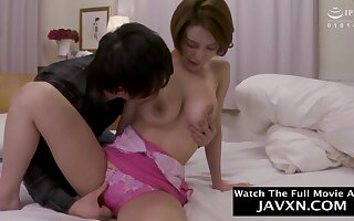 Japanese Mommy And Steamy Stepson veritable cougar
