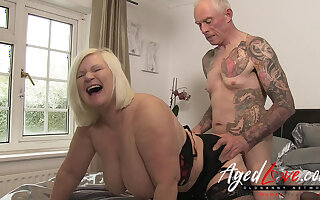 AgedLovE British Mature Lacy Starr Verge on Fuck