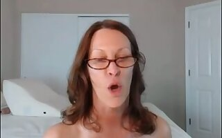 Only huge blarney could satisfy this thick MILF does both holes in this video