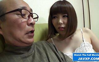 Japanese MILF Feeling Horny For Grandpa