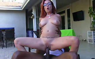 Ashley Graham Mean Redhead Gets Stretched Out at the end of one's tether BBC